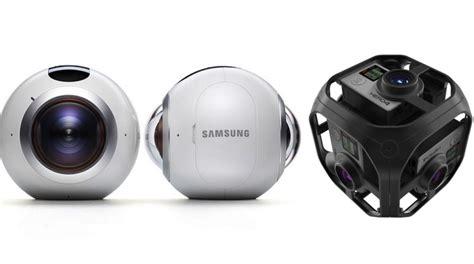 Gopro Samsung samsung gear vr spherical gopro omni cameras