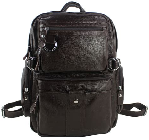 New Ambeebaby Backpack Bag new 2016 fashion s genuine leather backpack school backpack bag leather rucksack