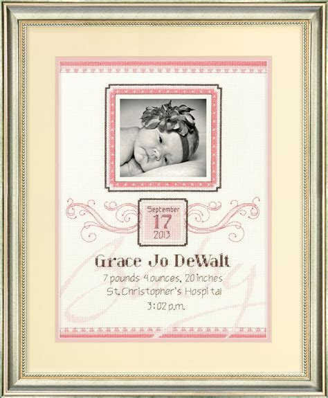 Dimensions Needlecrafts Counted Cross Stitch Baby Express Birth Record 17 Best Images About Cross Stitch Baby Sler On Air Balloon Baby Rooms