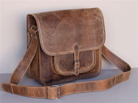 s vintage leather saddle bag scaramanga leather