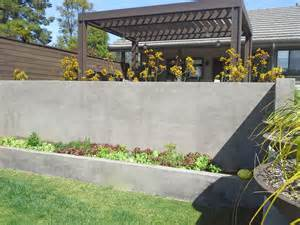 24 concrete retaining wall ideas for attractive garden