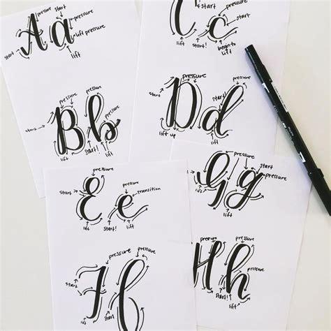 tutorial caligrafia lettering 517 mejores im 225 genes de lettering caligraf 237 a en pinterest