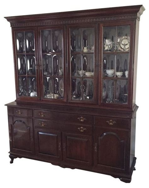 ethan allen china cabinet modern storage cabinets by
