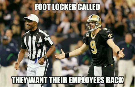 Nfl Ref Meme - 4th and glam