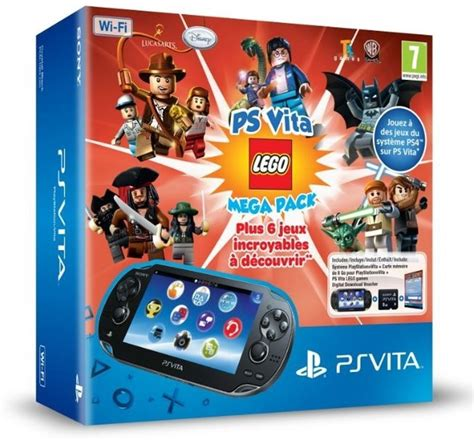Ps Vita Wifi 16gb playstation vita console wifi 16 gb memory card lego