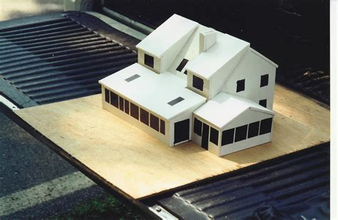 model houses to build home remodeling blog build a foam core model before