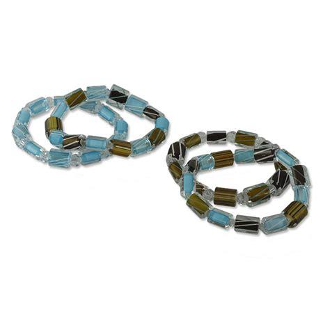 stretch cord for jewelry desert bracelet project stretch cord jewelry project