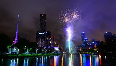 file australia melbourne celebration of diwali fireworks