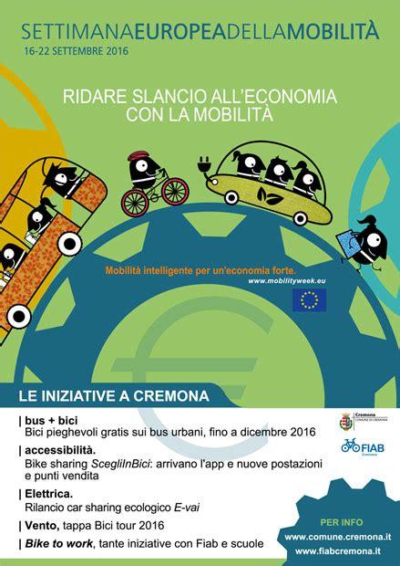 settimana europea della mobilit 224 sostenibile un edizione
