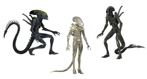 Wholesale Giftware And Home Decor Discontinued Aliens 7 Scale Action Figures Series 7