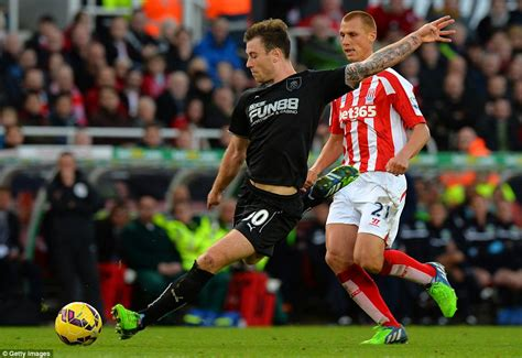 tom hughes stoke on trent stoke 1 2 burnley danny ings fires two goals in two first