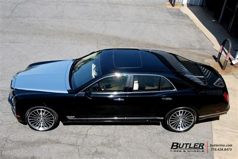 custom bentley mulsanne wheels bentley mulsanne with 22in lexani lf722 wheels exclusively