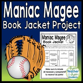 maniac magee book report maniac magee project create a book jacket maniac magee