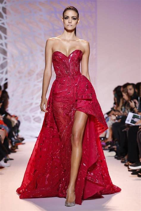 Zuhair Murad Haute Couture Dresses, Paris fashion week