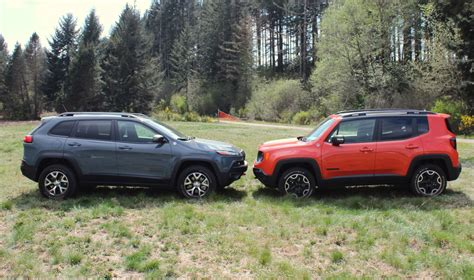 jeep liberty vs wrangler jeep renegade vs jeep how do they size up