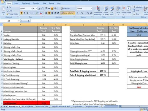 Sales And Expenses Spreadsheet multi venue sales and expenses spreadsheet by