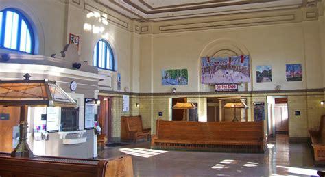 old train station interior