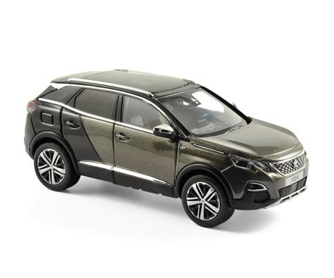 peugeot grey peugeot 3008 gt 2016 grey metallic die cast model