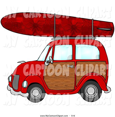 surf car clipart royalty free stock cartoon designs of cars