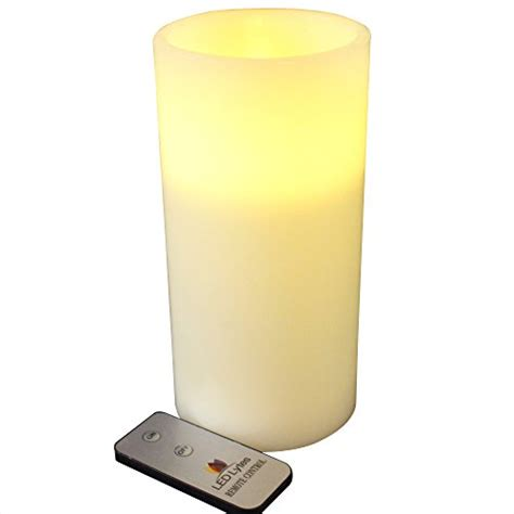Large Flameless Candles With Remote by Authentic Large Flameless Pillar Candle With Remote