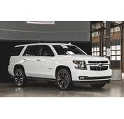 RST Special Edition Chevrolet Tahoe And Suburban Offer Upgraded Style