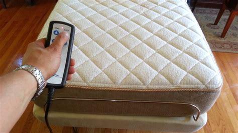 ergomotion 100 series adjustable bed with englander mattress electric hospital bed