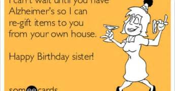 happy birthday wishes for sister funny clipartsgram com