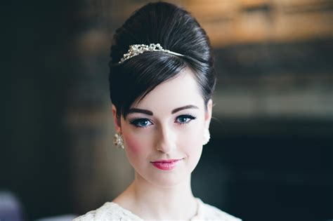 Wedding Hair Up Beehive by The Complete Wedding Hairstyles Guide Hitched Co Uk