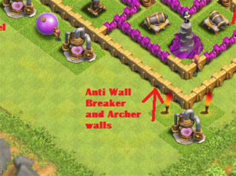 best wall pattern in clash of clans layouts clash of clans wiki fandom powered by wikia