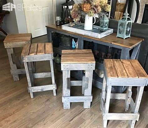 build your own bar stools you picked them top 5 pallet projects of february 2017