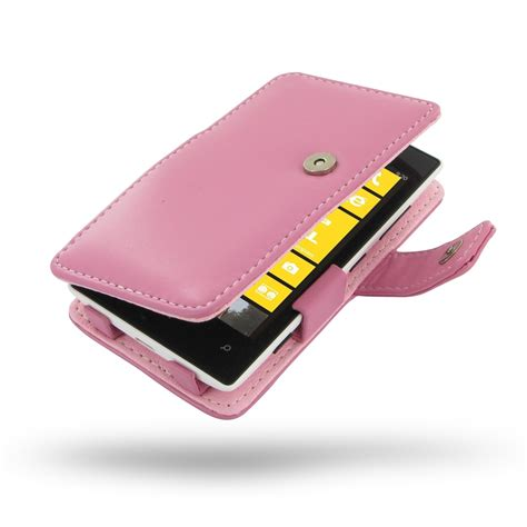 Nokia Cp 520 For Nokia E7 Carrying Pouch Casing Sarung Hp nokia lumia 520 leather flip cover petal pink pdair book