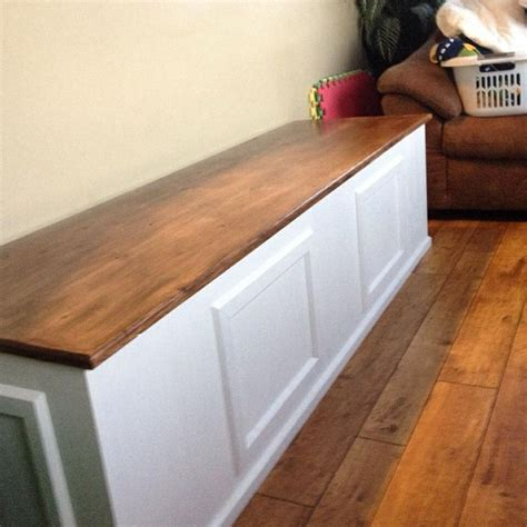 diy toy box bench plans quick woodworking projects