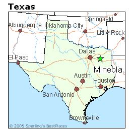 mineola texas map best places to live in mineola texas