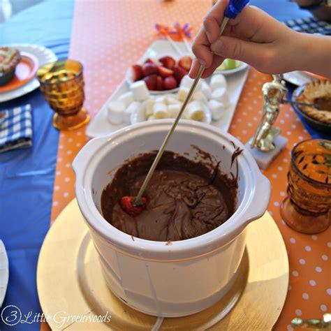Choco Fondue Choco Stick diy fondue sticks