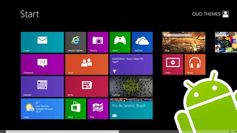 windows 7 for android gratis tema windows 7 android theme for windows 7 and 8