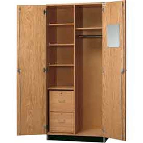 broom storage cabinet wood cabinets wood diversified woodcrafts wood wardrobe