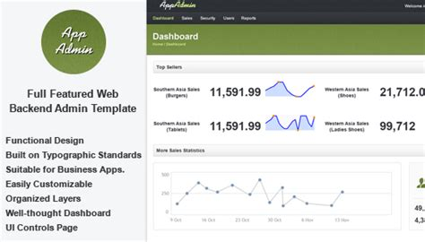free download jquery admin template