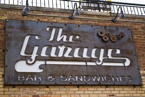 Garage Bar Chicago by Garagebar Sign