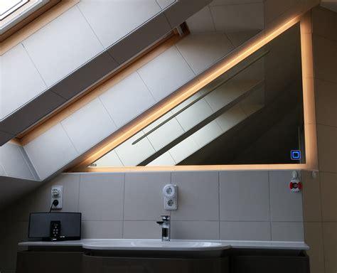badspiegel dachschräge badspiegel in dachschr 228 ge