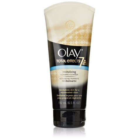 Olay Total Effect Foaming Cleanser olay total effects revitalizing foaming cleanser gentle wash for all skin types