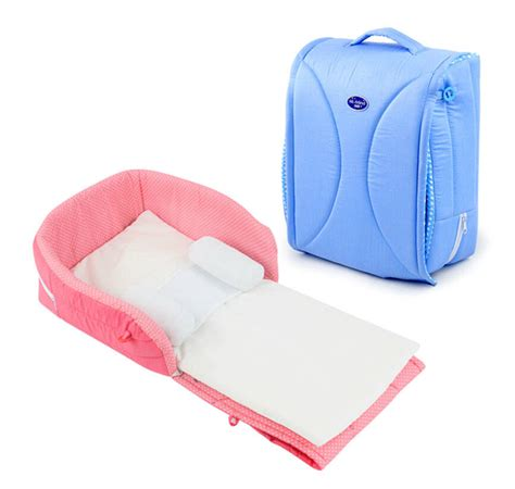 portable infant bed new newborn baby infant crib cot snuggle travel close