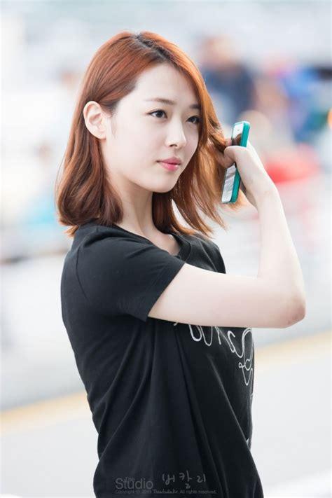 f x sulli hairstyle f x sulli incheon airport picturekpop blogspot com