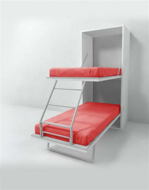 Bunk Bed Murphy Bed Compatto Vertical Murphy Bunk Beds Expand Furniture