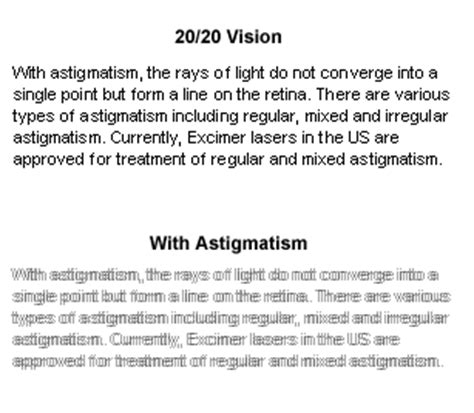 Gallery for gt astigmatism vision examples