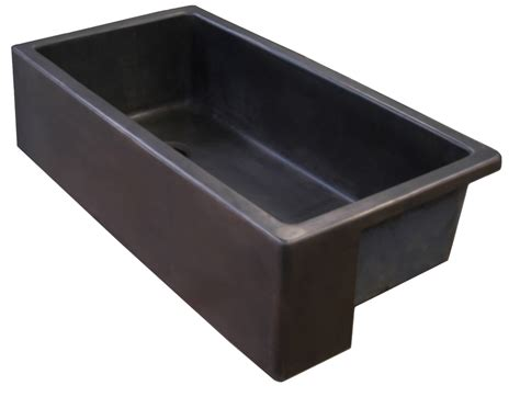 Bronze Kitchen Sinks Apron Front Sink L Kae Interiors