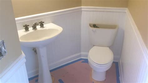 How To Install Beadboard Wainscoting by Installing Beadboard Panelling As Wainscotting