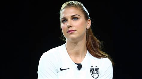 fifa 16 features alex morgan as the first woman ever to be