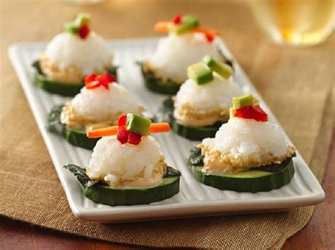 canap駸 recipe best canapes