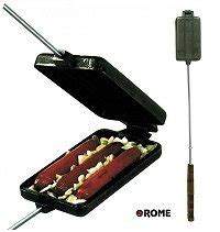 brat cooker rome dog n brat cooker cast iron 1905