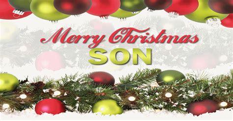 merry christmas son